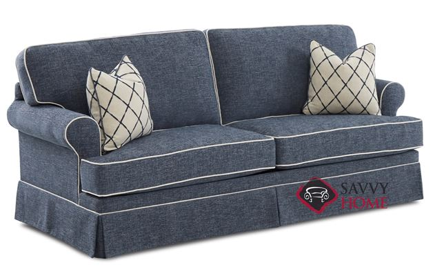 Cranston Queen Sofa Bed by Savvy (Angled)
