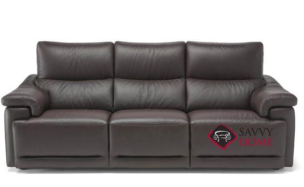 Brama (C070-064) Leather Large Sofa by Natuzzi