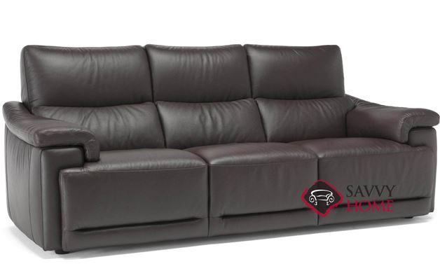 Brama (C070-N55/M55) Leather Reclining Large Sofa by Natuzzi