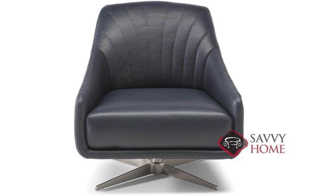 Felicita (C014-066) Leather Swivel Chair by Natuzzi
