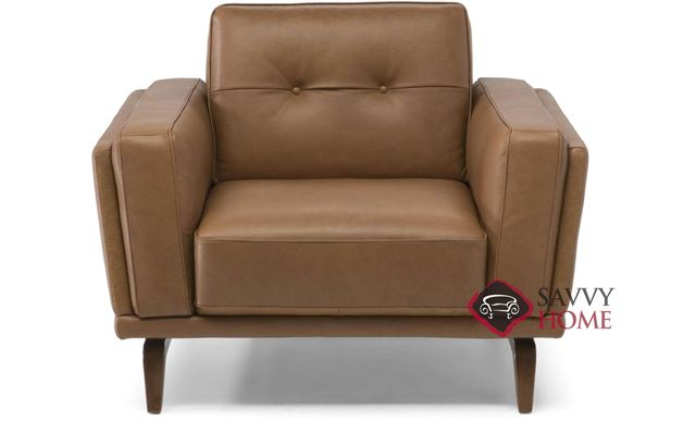 Grato (C095-048) Leather Big Chair by Natuzzi