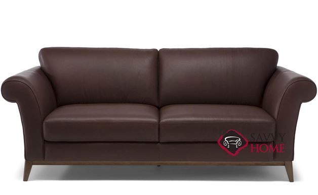Letizia (C058-009) Leather Studio Sofa by Natuzzi