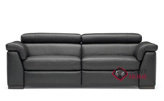 Tommaso (B634-T66) Power Reclining Leather Sofa by Natuzzi