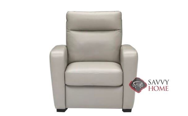 Accoglienza B938 Leather Stationary Chair By Natuzzi Is