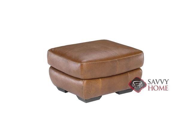 Biagio (B806-010) Leather Ottoman by Natuzzi