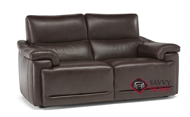 Brama (C070-009) Leather Studio Sofa by Natuzzi
