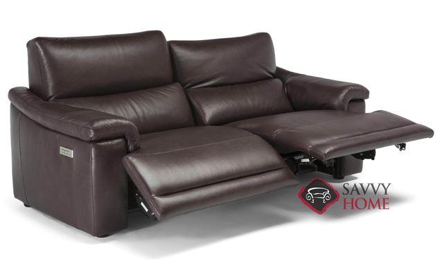 Brama (C070-N46/M46) Leather Reclining Studio Sofa by Natuzzi