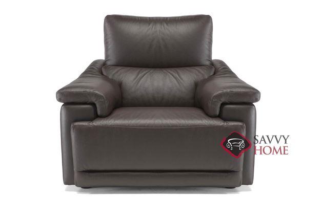 Brama (C070-003) Leather Chair by Natuzzi