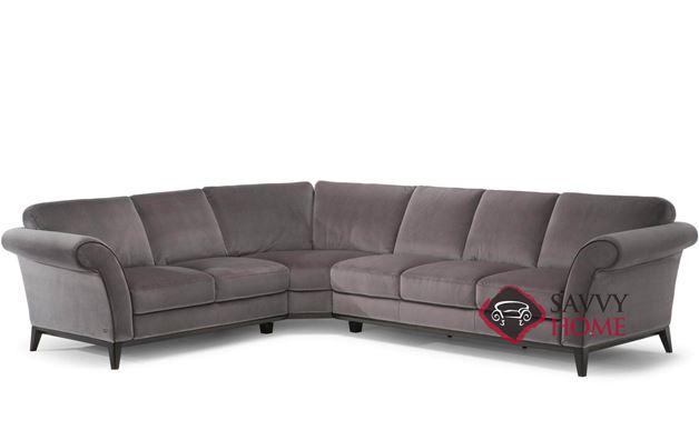 Letizia (C058-016/017/029/018/019) Leather True Sectional Sofa by Natuzzi