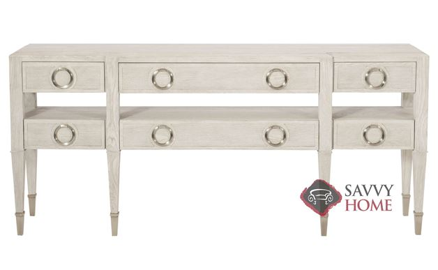Domaine Blanc Console Table by Bernhardt