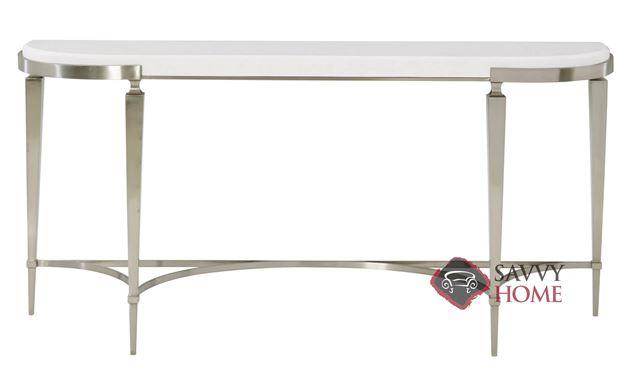 Domaine Blanc Demilune Console Table by Bernhardt