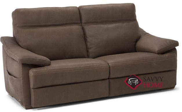 Pazienza (C012-009) Leather Studio Sofa by Natuzzi
