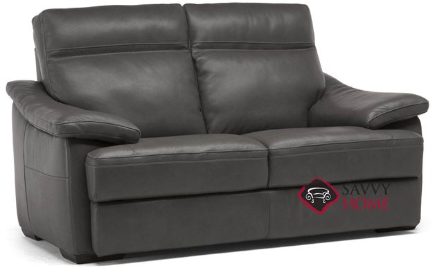 Pazienza (C012-393) Power Reclining Leather Loveseat by Natuzzi