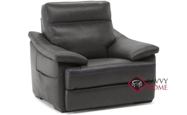 Pazienza (C012-454) Power Reclining Leather Chair by Natuzzi