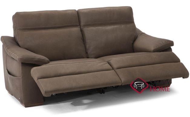 Pazienza (C012-458) Power Reclining Leather Studio Sofa by Natuzzi