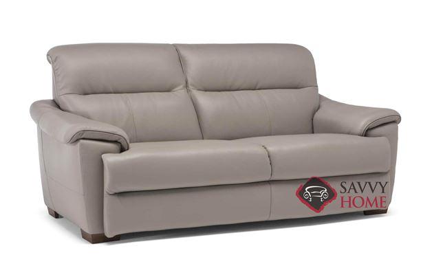 Potenza (C063-N46) Power Reclining Leather Studio Sofa by Natuzzi