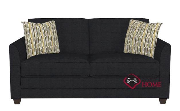 Valencia Full Sleeper Sofa by Savvy in Attire Charcoal