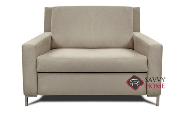 Bryson Twin Leather Comfort Sleeper by American Leather
