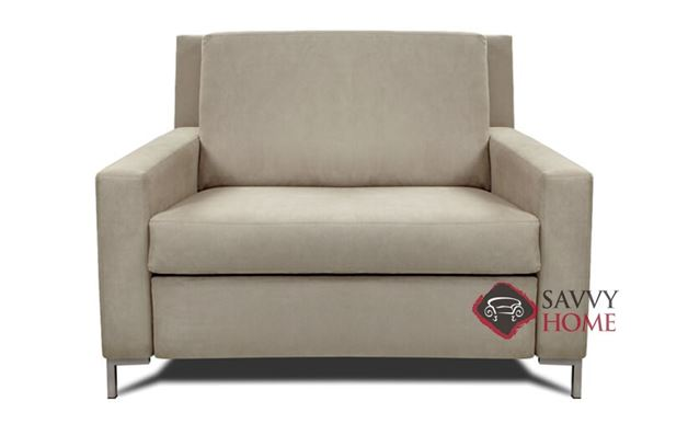 Bryson Chair Leather Comfort Sleeper by American Leather