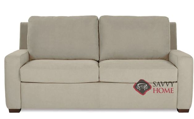 Lyons Queen Leather Comfort Sleeper by American Leather
