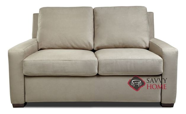 Lyons Full Leather Comfort Sleeper by American Leather