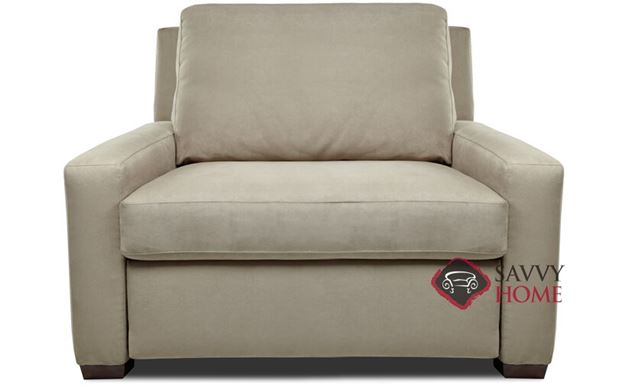 Lyons Twin Leather Comfort Sleeper by American Leather