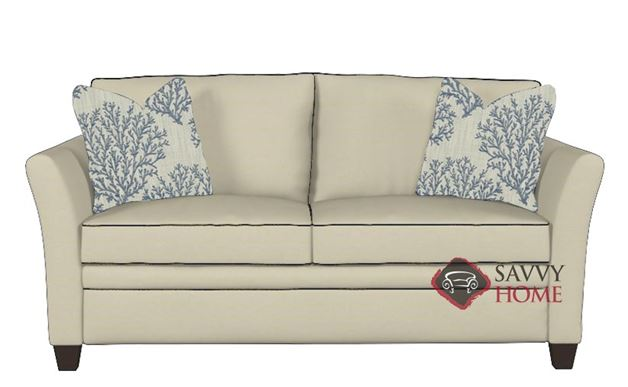 Murano Full Sleeper Sofa in Oakley Ivory