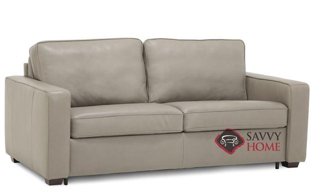 Kildonan CloudZ Full Top-Grain Leather Sleeper Sofa by Palliser