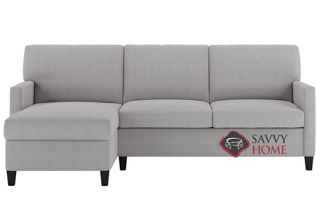Conley Queen Plus with Chaise Sectional Comfort Sleeper by American Leather