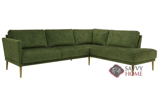 Viola Large Chaise Sectional Sofa by Luonto