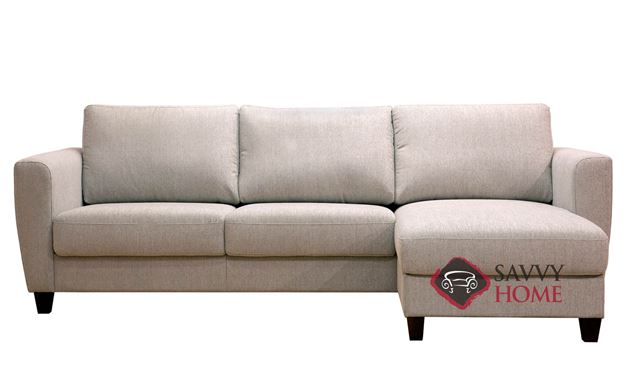Flex Chaise Sectional Full Sofa Bed by Luonto