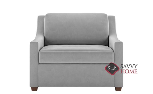 Perry Twin Leather Comfort Sleeper by American Leather