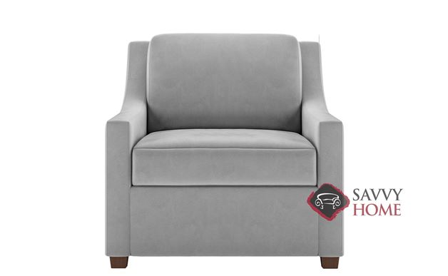 Perry Chair Leather Comfort Sleeper by American Leather
