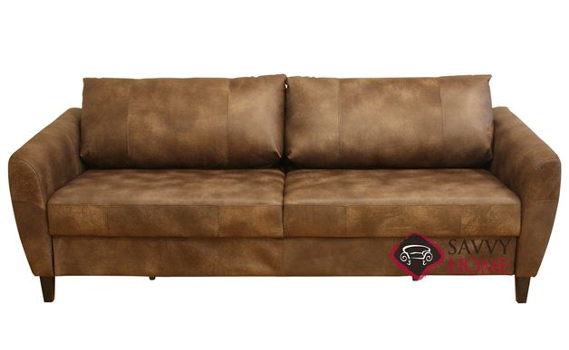 Boras Queen Leather Sofa Bed by Luonto