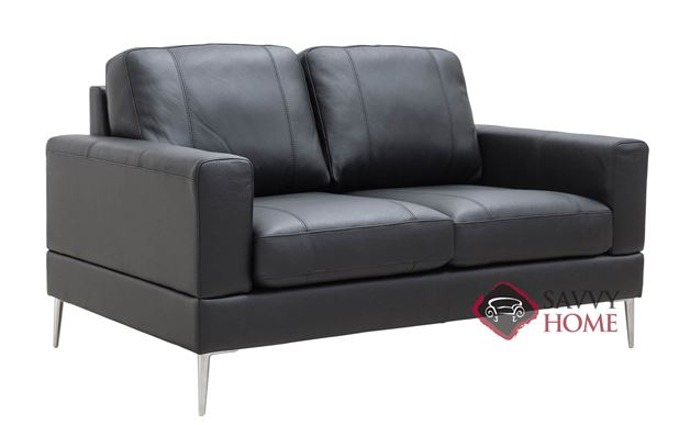 Capri Leather Loveseat by Luonto