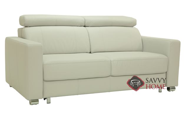 West Queen Leather Sofa Bed by Luonto