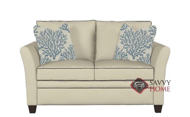Murano Twin Sleeper Sofa in Oakley Ivory