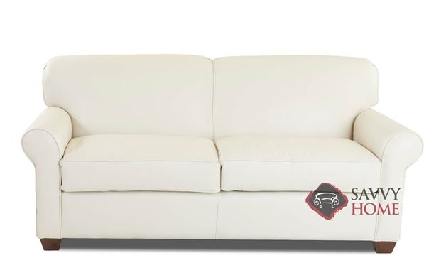 Calgary Leather Full Sleeper Sofa