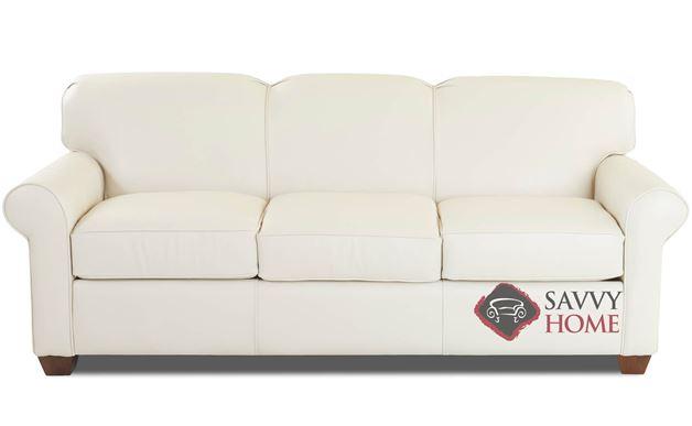 Calgary Leather Queen Sleeper Sofa