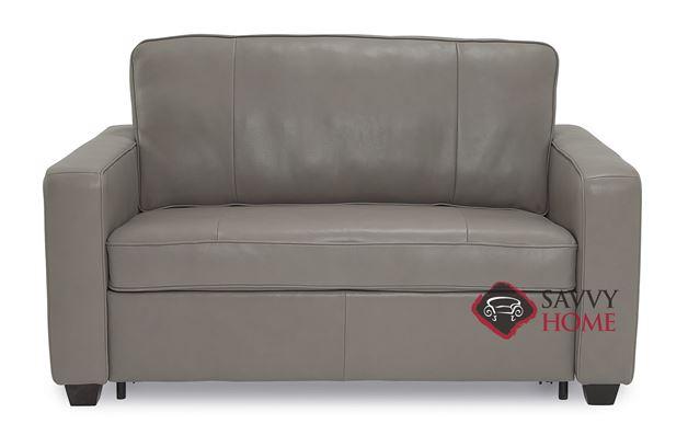 Anya CloudZ Twin Top-Grain Leather Sofa Bed by Palliser
