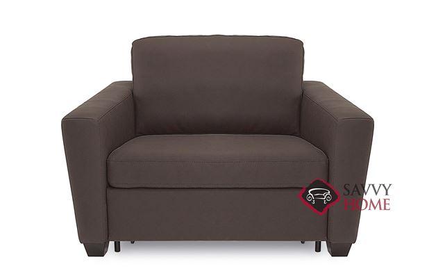 Wyn CloudZ Twin Top-Grain Leather Sofa Bed by Palliser