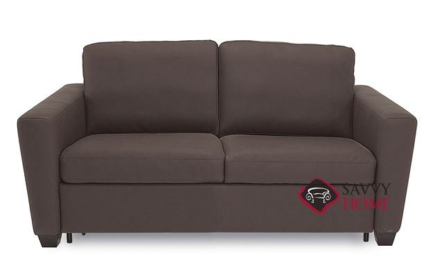 Wyn CloudZ Full Top-Grain Leather Sofa Bed by Palliser