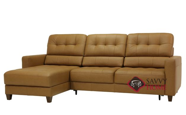 Noah Chaise Sectional Full XL Sofa Bed by Luonto