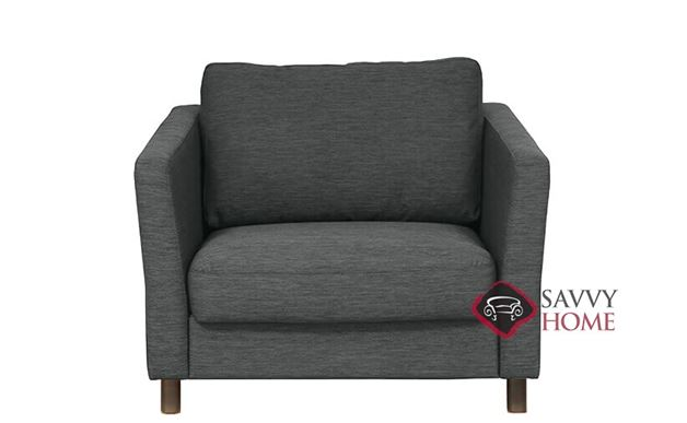Monika Chair Sofa Bed by Luonto in Rene 04