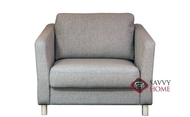 Monika Chair Sofa Bed by Luonto in Fun 496