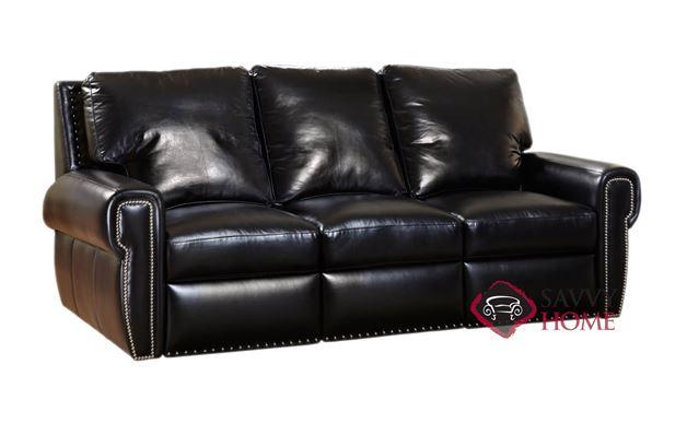 Dakota Full Leather Sofa Bed by Omnia