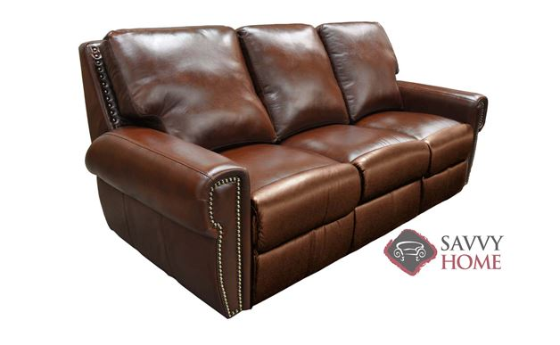 Bismarck Reclining Leather Sofa by Omnia