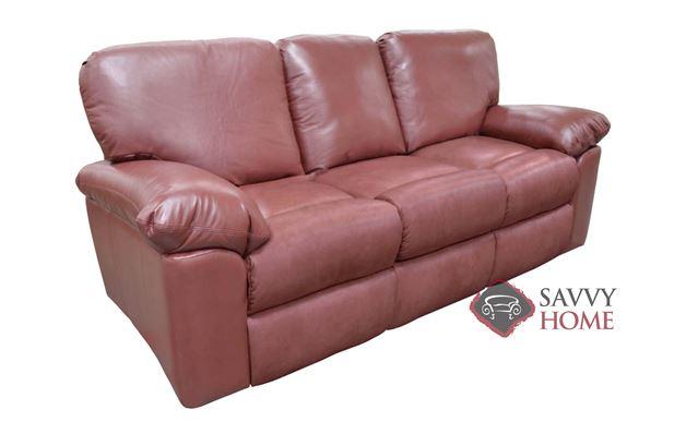 El Cajon Full Leather Sofa Bed by Omnia