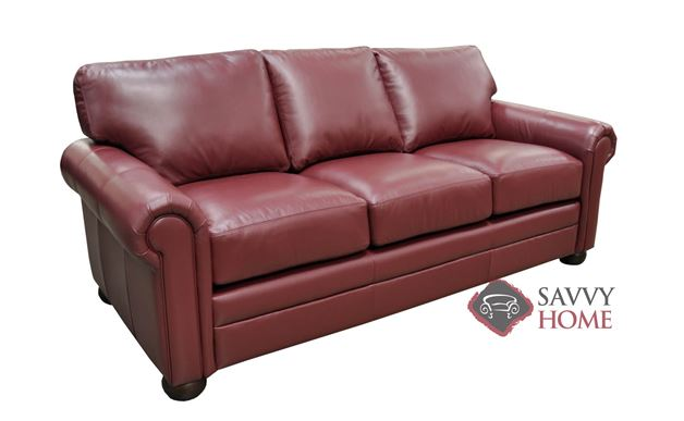 Alpharetta Leather Sofa by Omnia