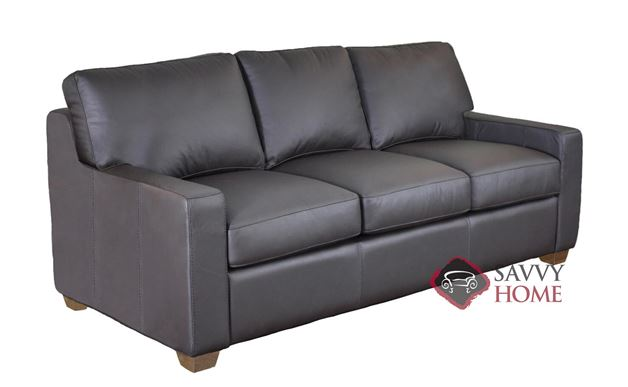 Dream Maker 102 Queen Leather Sofa Bed by Omnia